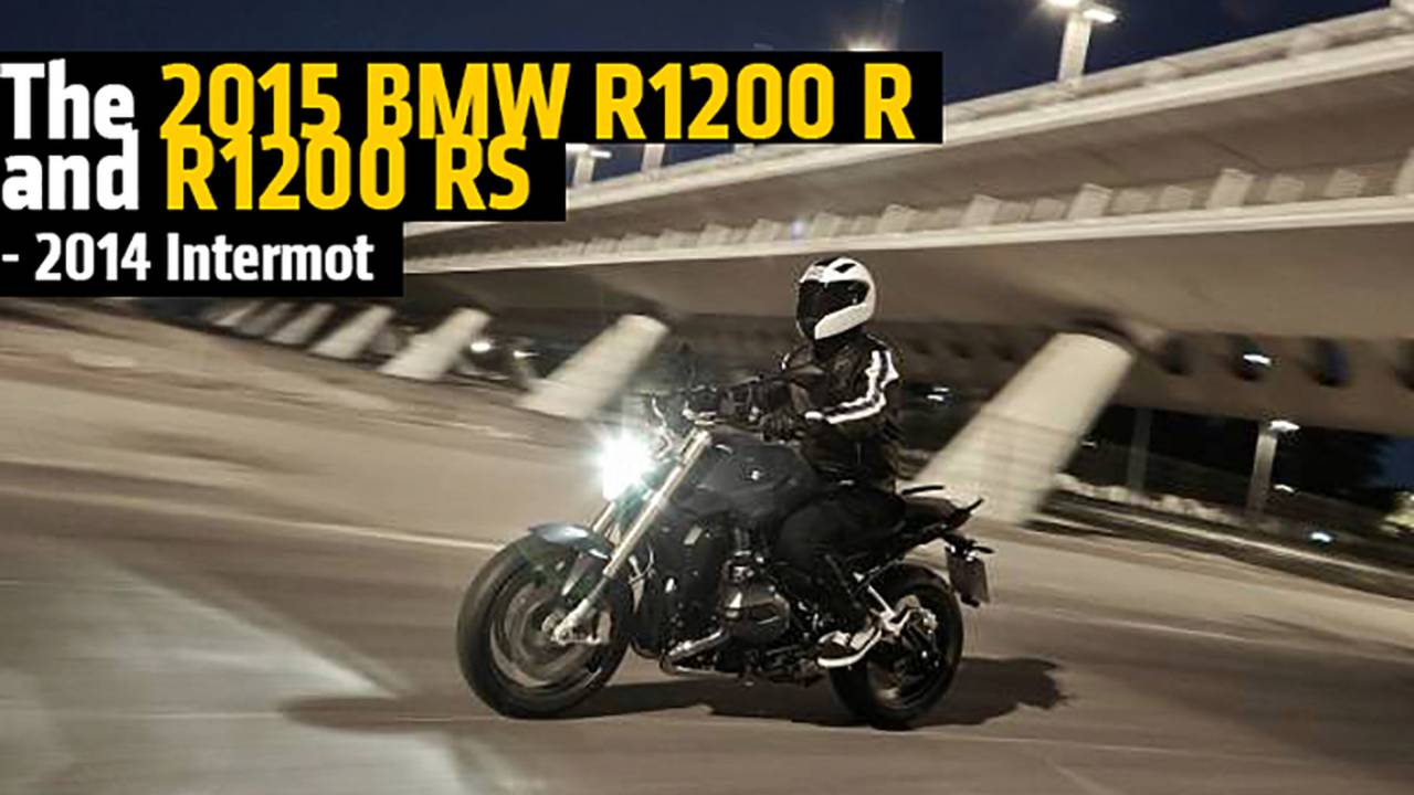 The 2015 BMW R1200 R and R1200 RS - 2014 Intermot