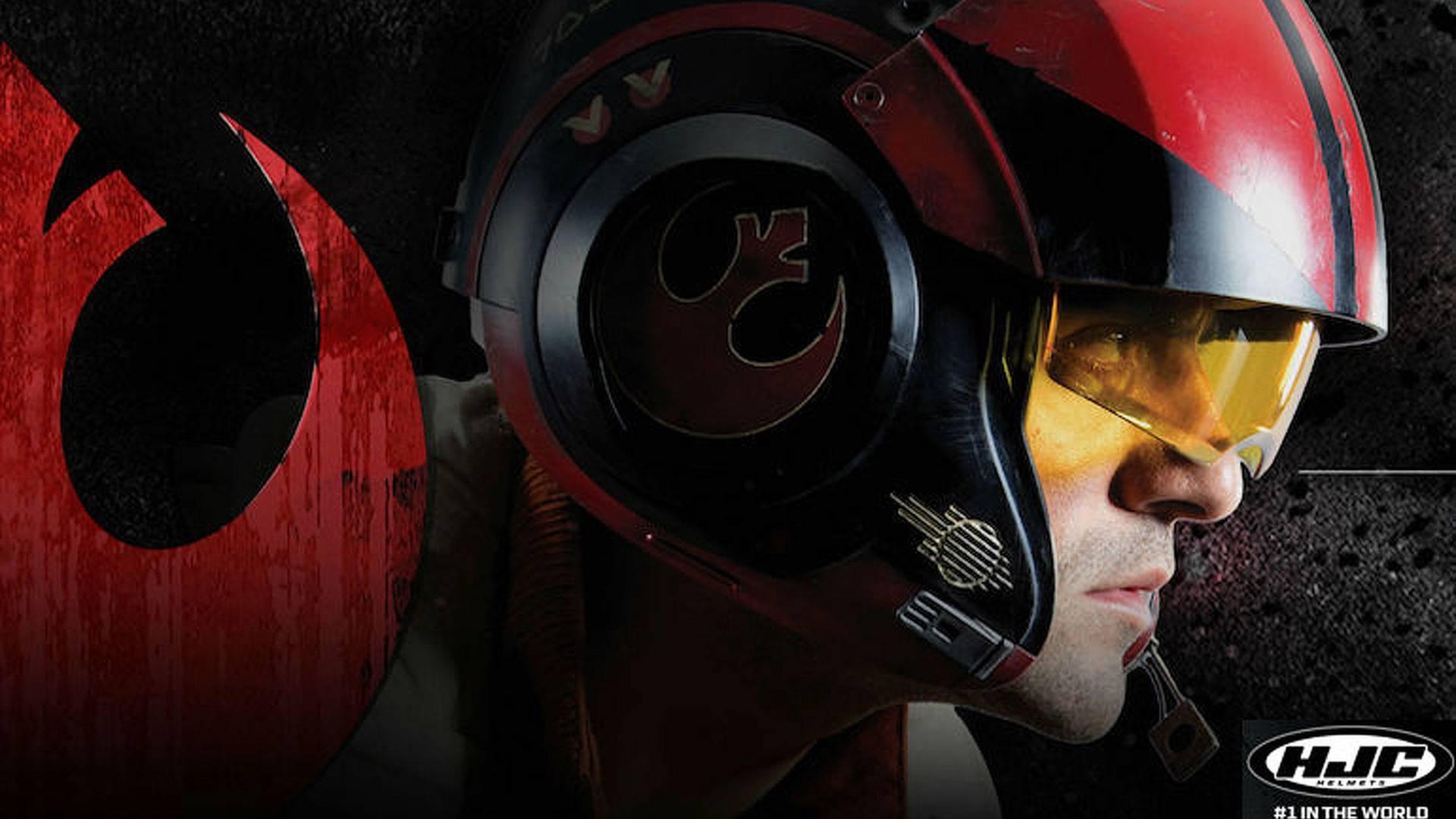 HJC Unveils 'Poe Dameron' Star Wars Helmet
