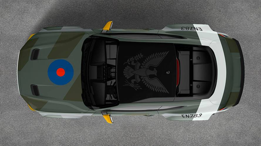 Ford to honour RAF pilots with 700-bhp Eagle Squadron Mustang GT