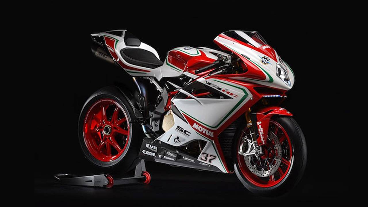 MV Agusta Reveals Details of the Dead Sexy 2018 F4 RC