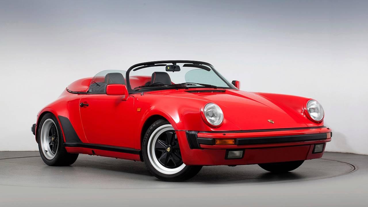 6.- Porsche 911 Carrera Speedster (1989): ancho o alargado