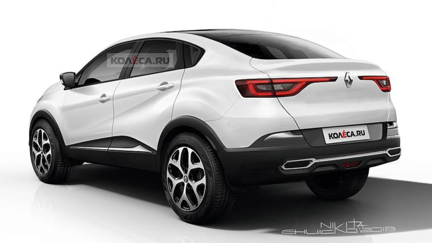 Renault Captur Coupé renderkép