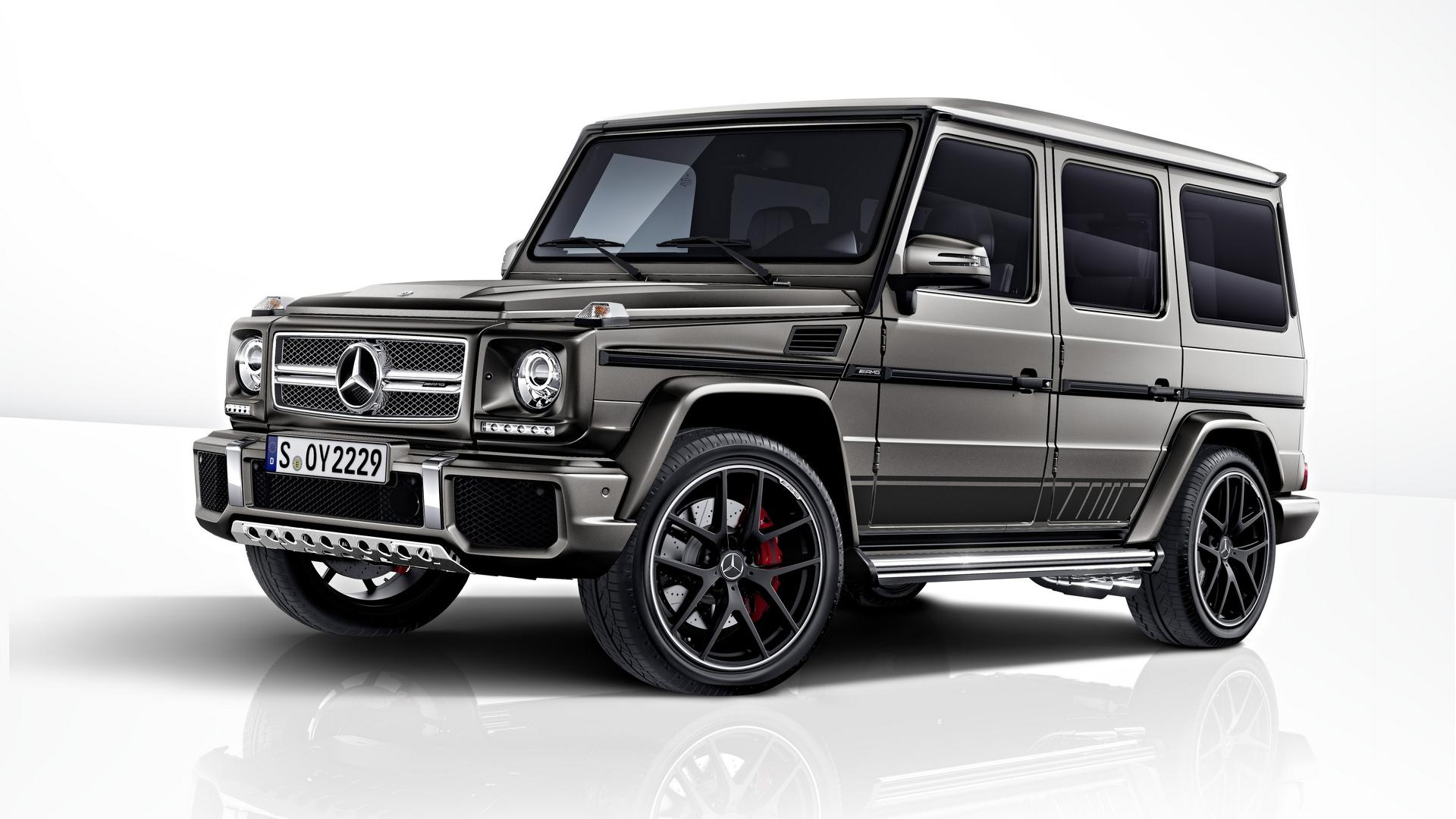mercedes-amg g63, g65 exclusive edition detailed ahead frankfurt