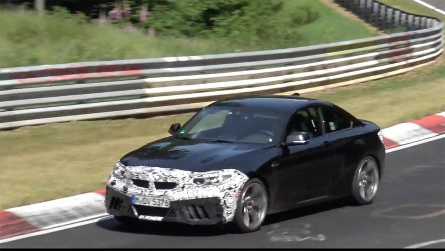 BMW M2 CS Spied Getting Extensive Nürburgring Workout