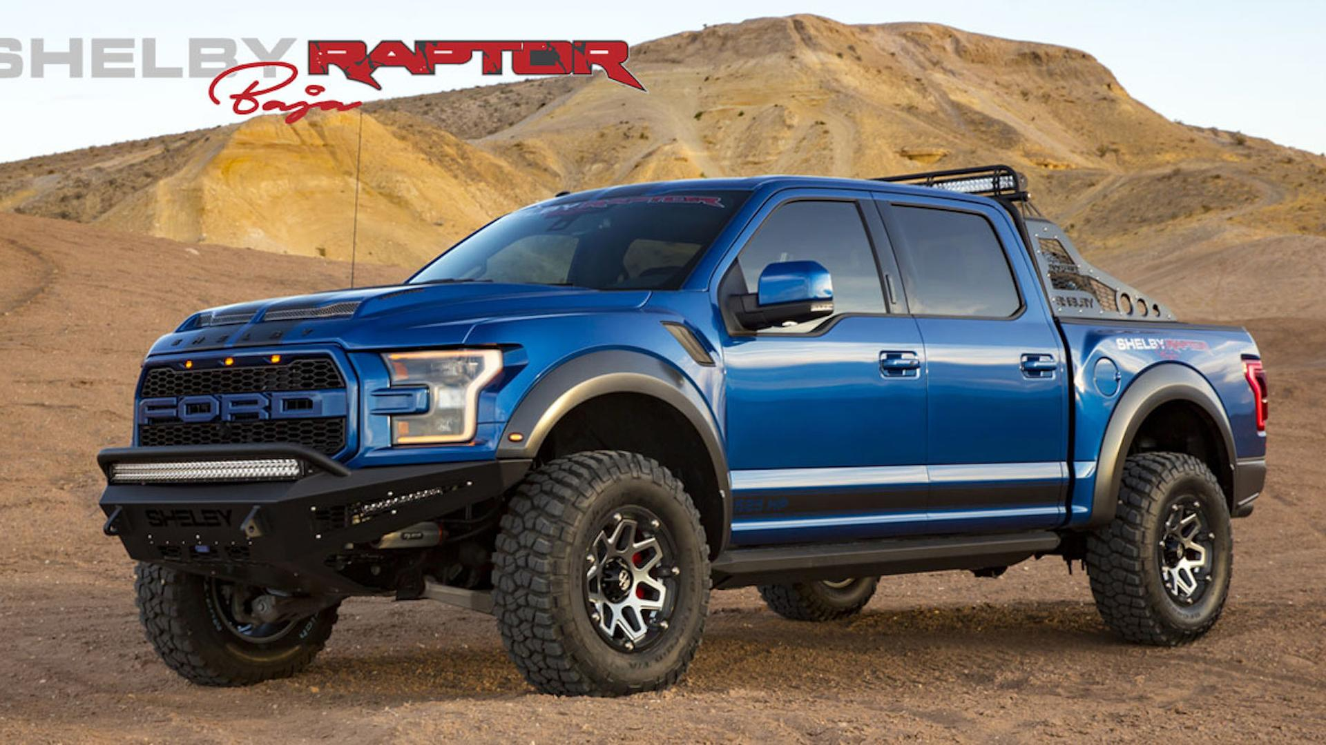 Shelbys rugged ford raptor baja packs 525 hp