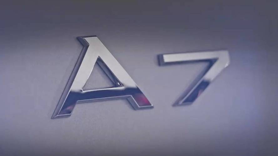 Audi A7 Teaser