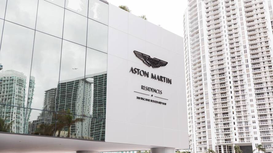Aston Martin Building Block Of Flats In Miami