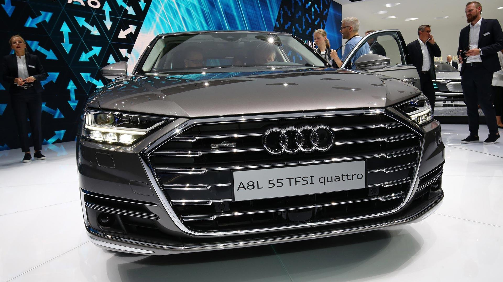 2018 Audi A8 Has Lasers Foot Massagers And A Big Price Tag