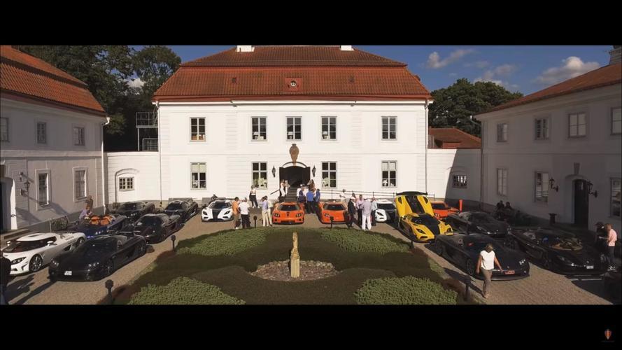 Koenigsegg sahipleri büyük bir buluşma gerçekleştirdi