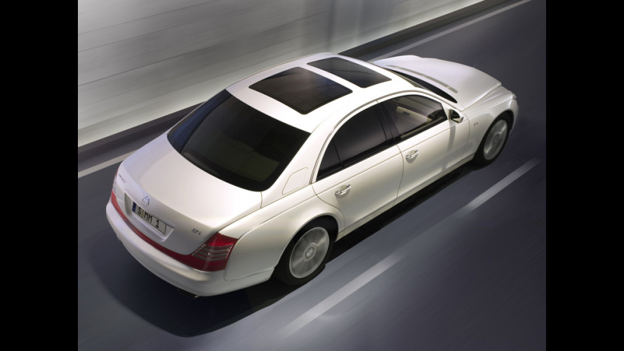 Maybach 57 S in madreperla...