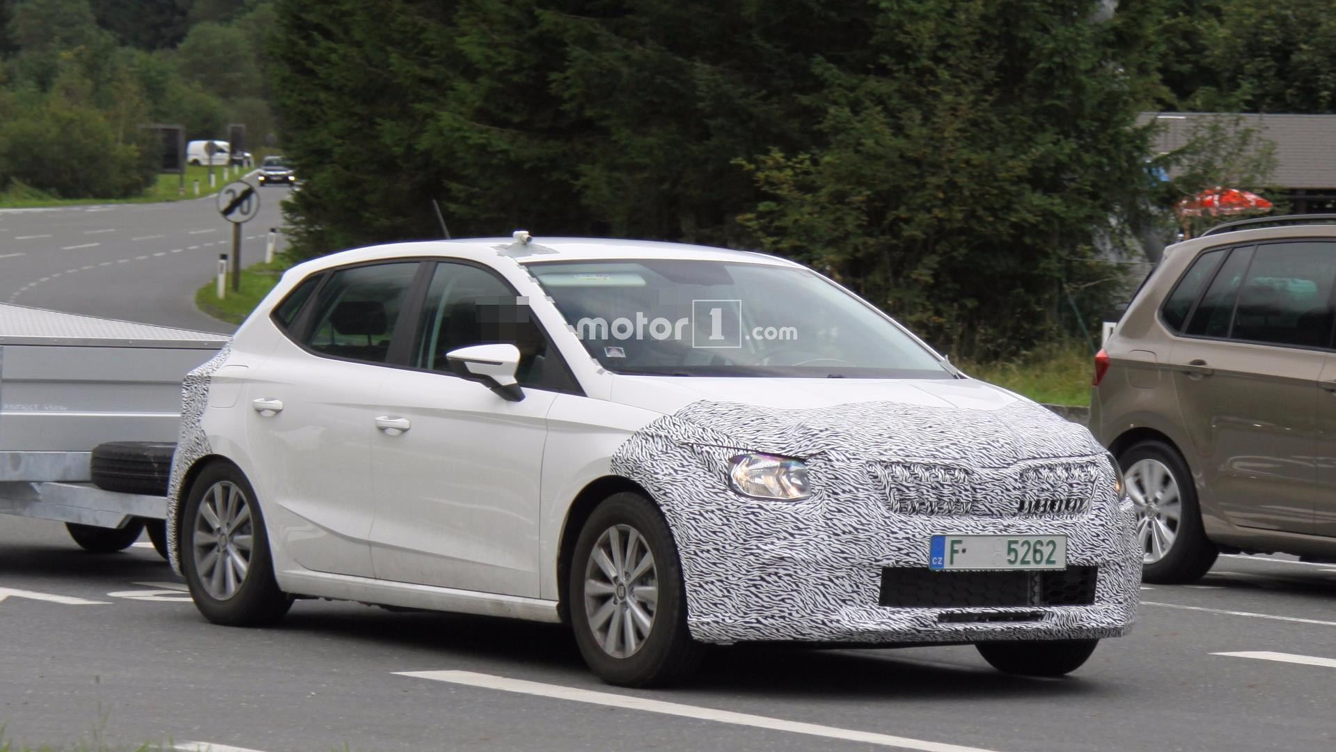 Skoda Test Car Spied With An Identity Crisis Thinks It S A Seat