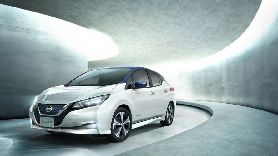 Nissan Leaf, elettrica e connessa alla rete