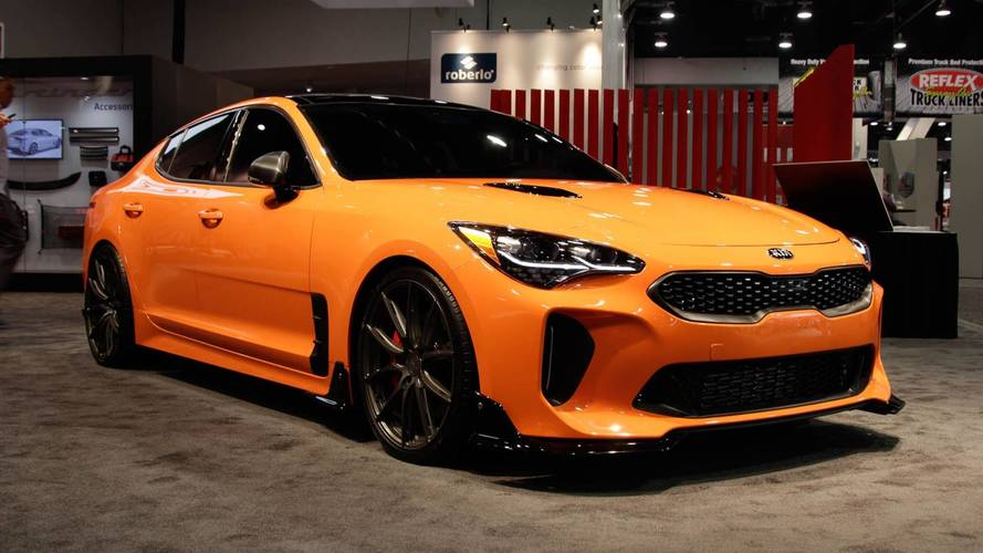 Kia Brought Two Hot Stingers And A Blacked-Out Cadenza To SEMA