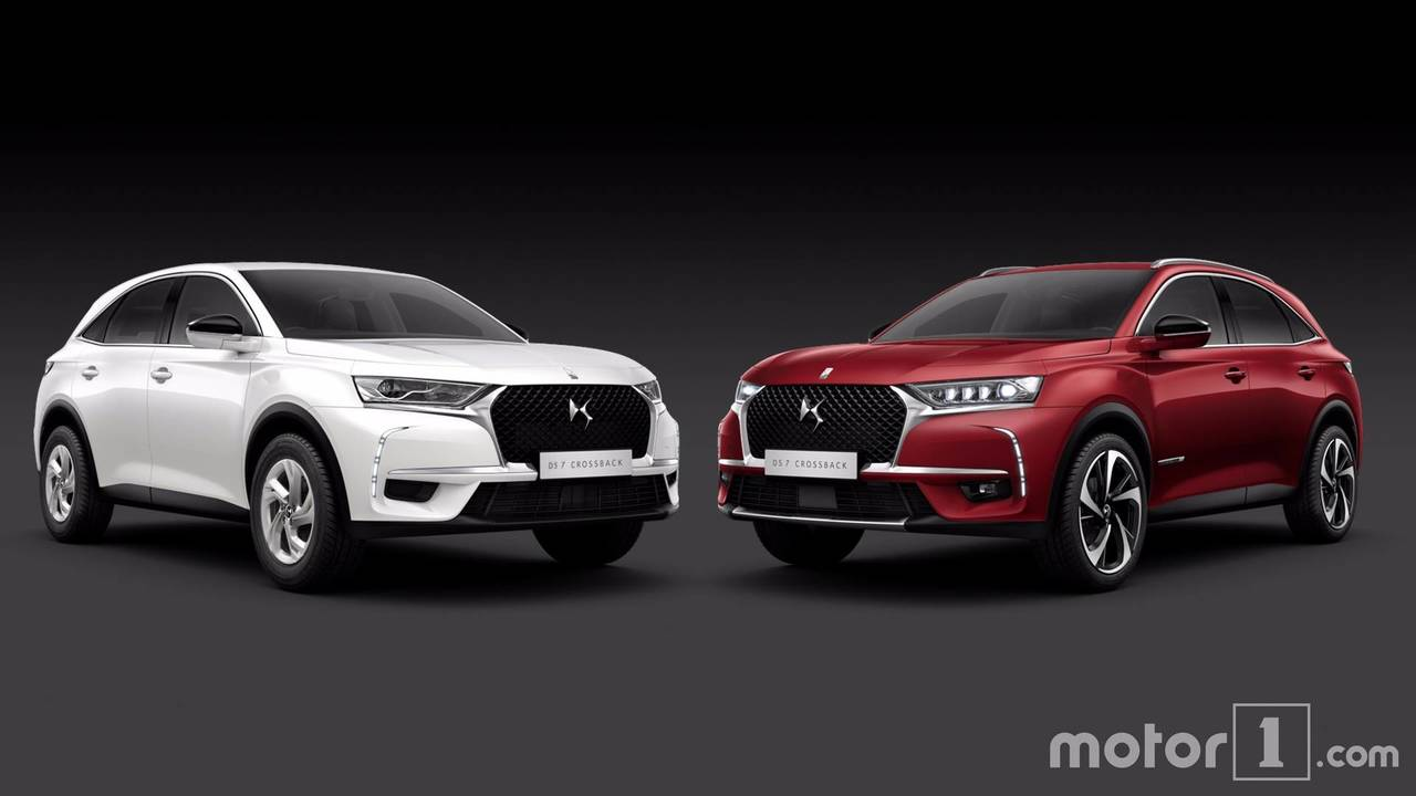 DS 7 Crossback comparatif