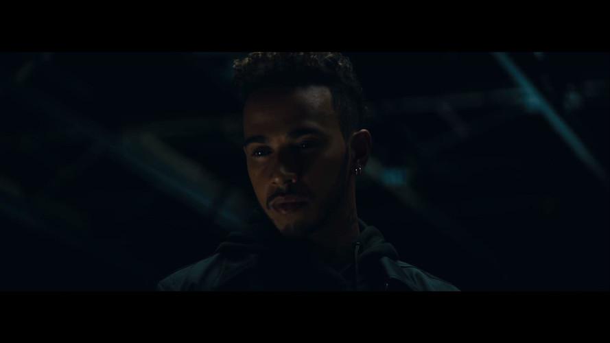 Lewis Hamilton, en el teaser del Mercedes-AMG Project ONE