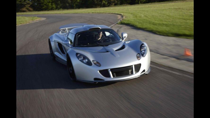Hennessey Venom GT: la prima parla arabo