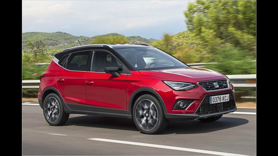 Kleinwagen-SUV Seat Arona im Test