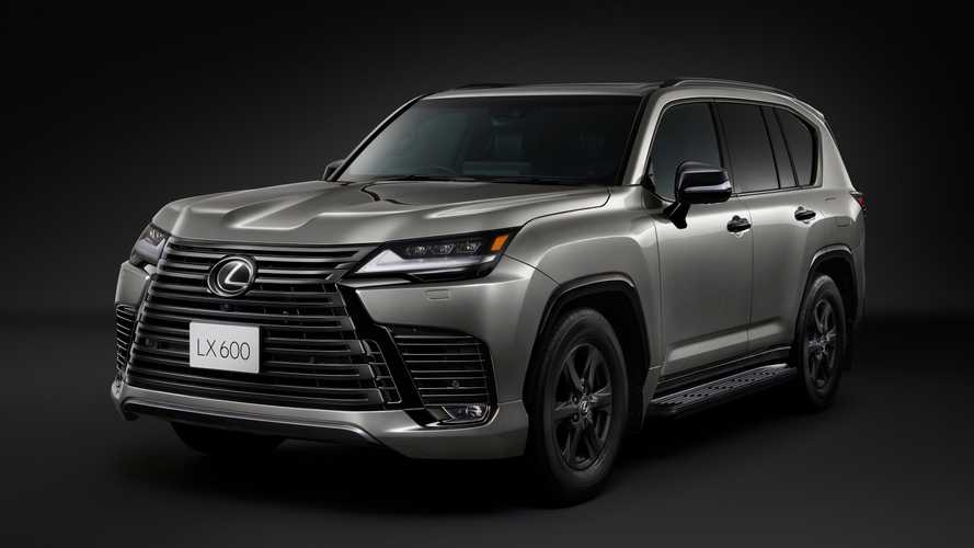2022 Lexus LX Offroad Trim For Japan Has Three Differential Locks