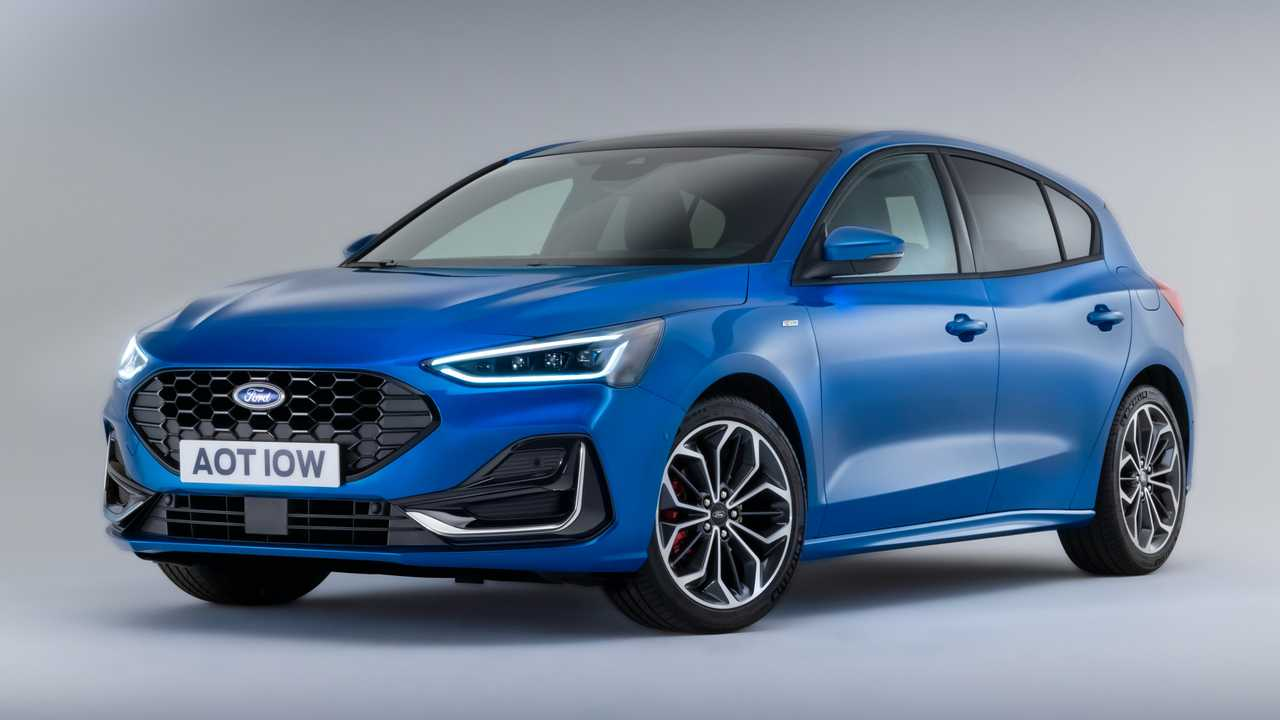 Der überarbeitete Ford Focus (2022) als ST-Line