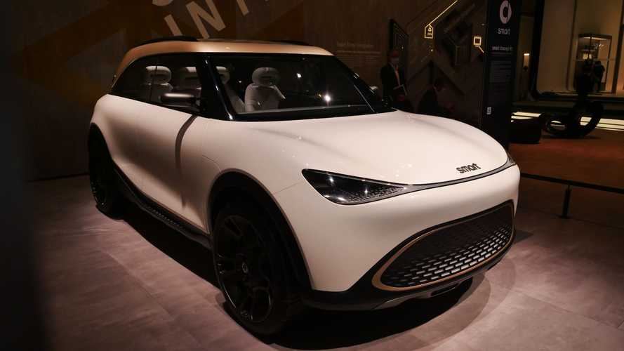 smart Concept #1: anticipo del primer SUV de la marca inteligente