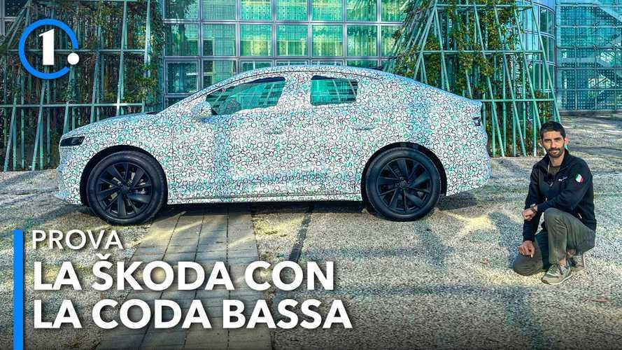 Skoda Enyaq Coupé iV, prima prova del SUV elettrico rastremato