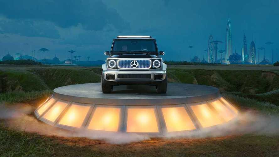 Mercedes представил батарейный «Гелендваген»