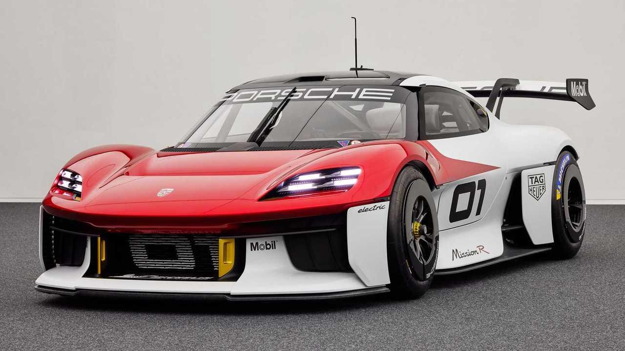 Porsche Mission R Concept: Elektrischer Kundensport-Rennwagen