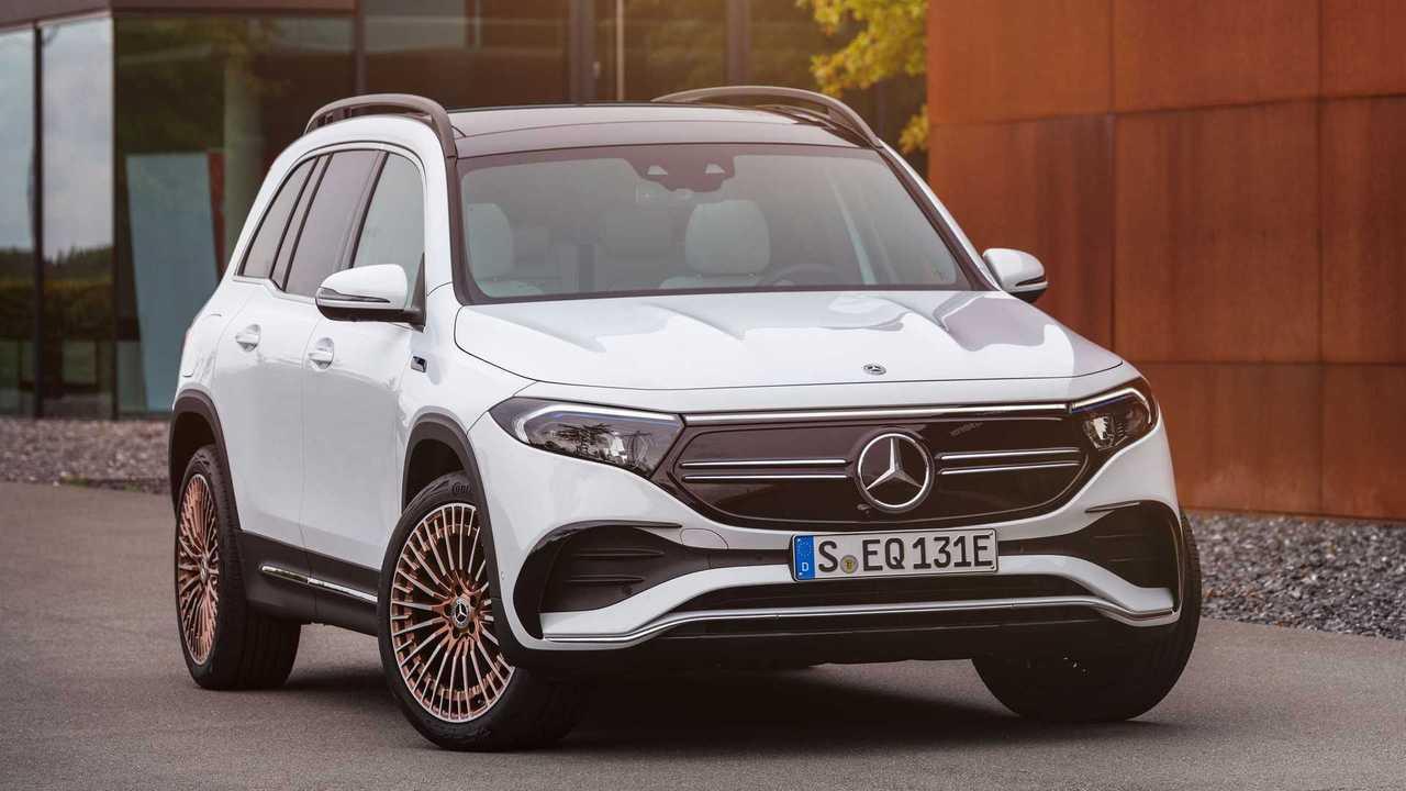 2022 Mercedes-Benz EQB 350 Exterior