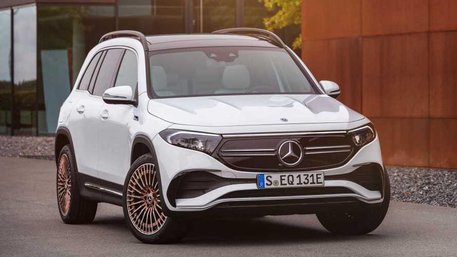 2022 Mercedes-Benz EQB makes its European debut
