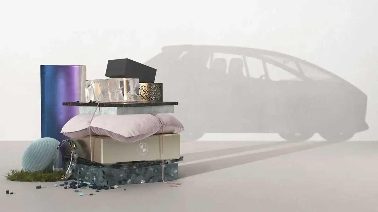 BMW i Vision Circular Concept teased ahead of IAA debut.