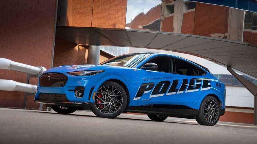 Ford Mustang Mach-E, in fase di test per la polizia americana