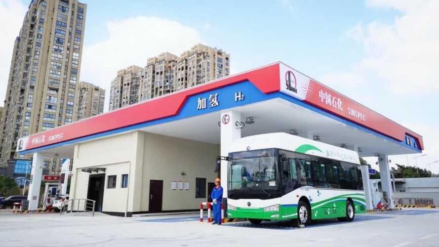 Одна из китайских провинций обзаведётся 100 водородными станциями