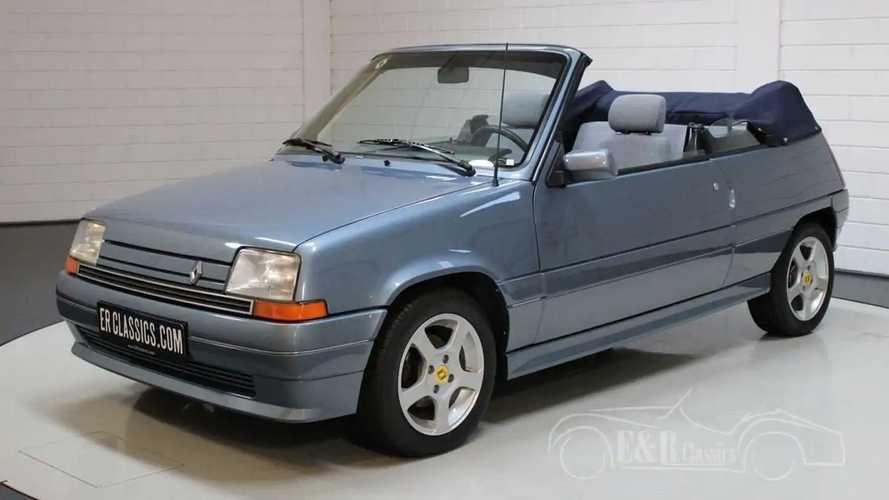 Este exclusivo Renault Supercinco GTS Cabriolet está a la venta