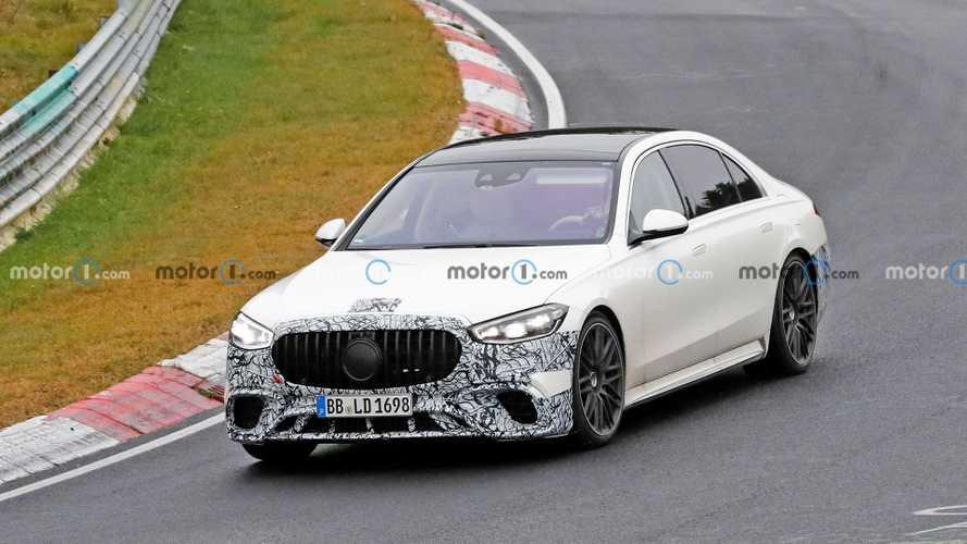 Şarj edilebilir hibrit Mercedes-AMG S63 böyle görüntülendi