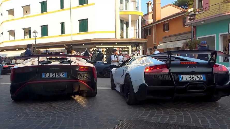 Videó: A Lamborghini Murcielago SV-nek vagy az Aventador SV-nek van jobb hangja?