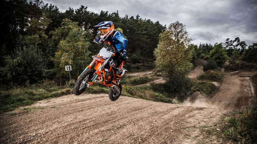 KTM Rolls Out 2022 50 SX Factory Edition