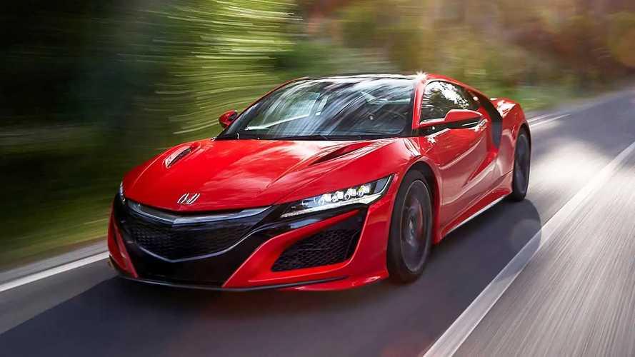 La nuova Honda NSX potrebbe essere elettrica al 100%