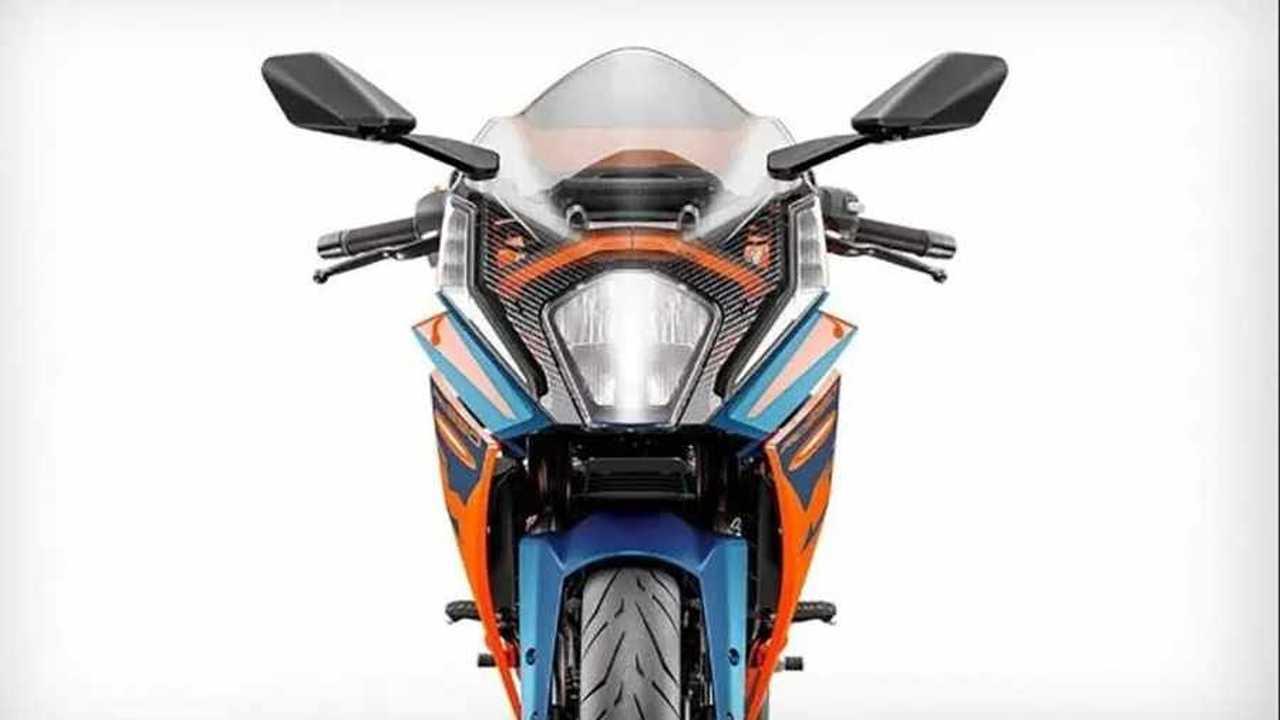 KTM 2022 RC 390 -  Fascia
