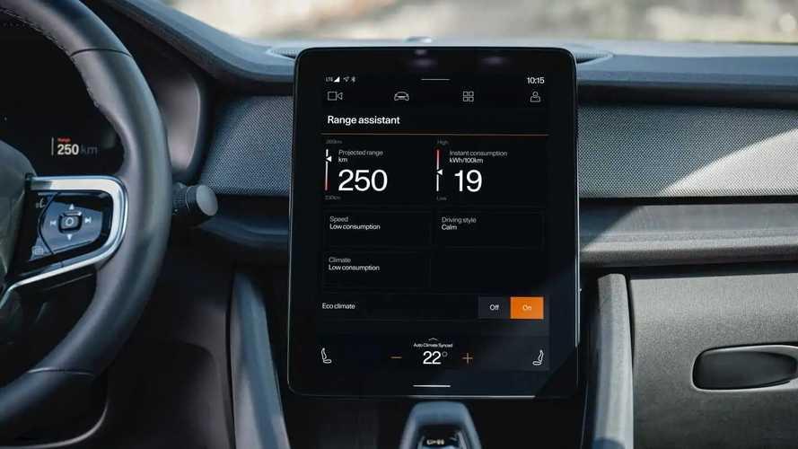 Volvo XC40 Recharge, Polestar 2 Get Range Assistant App Via OTA