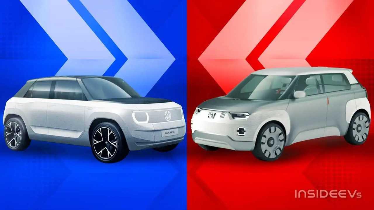 Volkswagen ID. Life e Fiat Centoventi