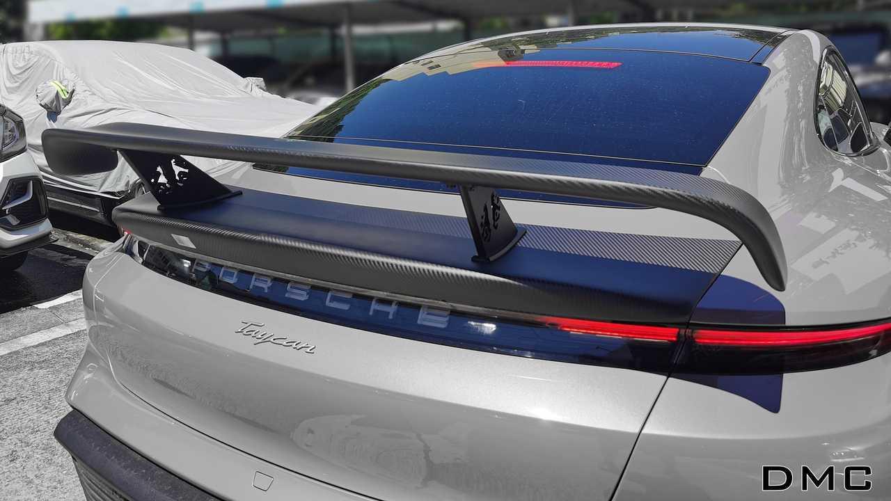 DMC aerodynamic kit for Porsche Taycan