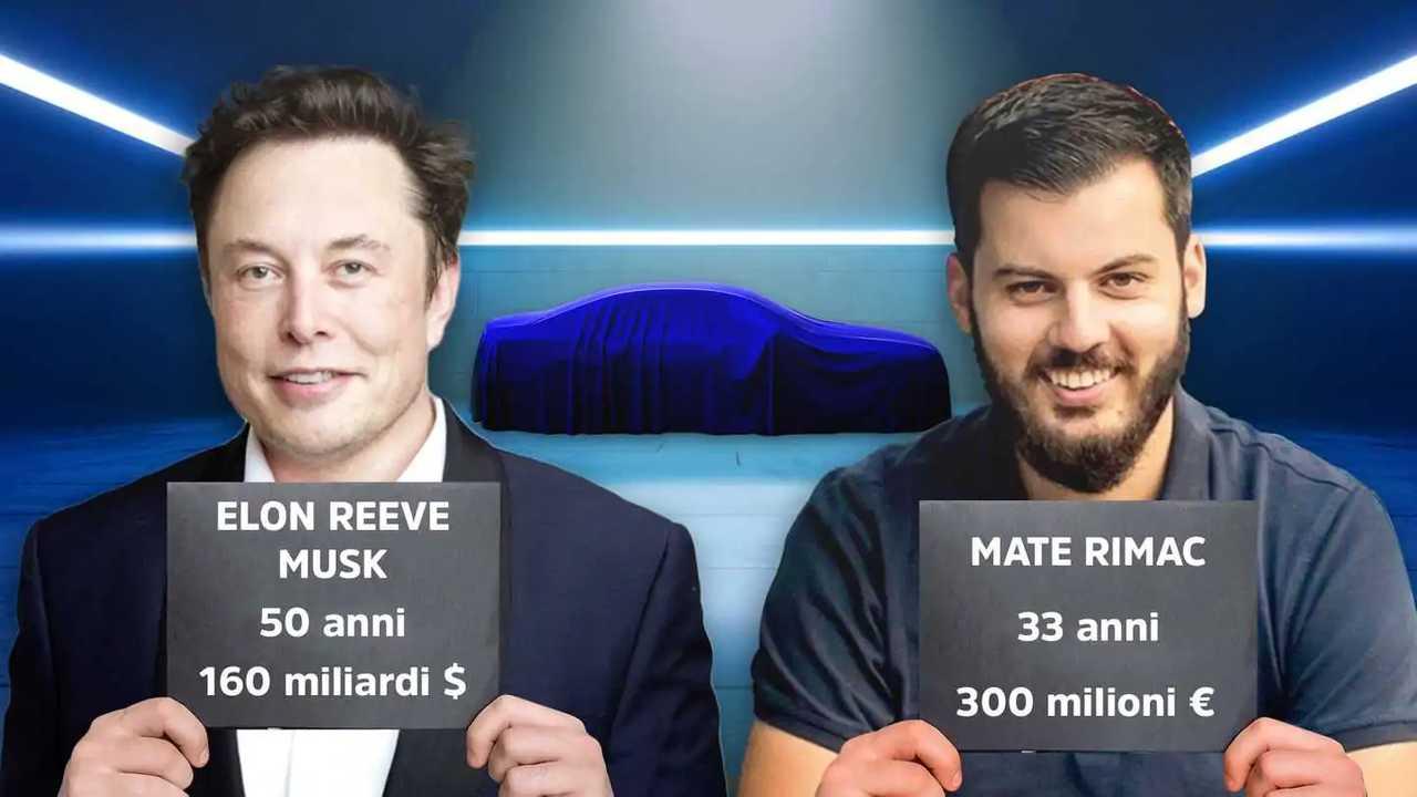 Elon Musk e Mate Rimac