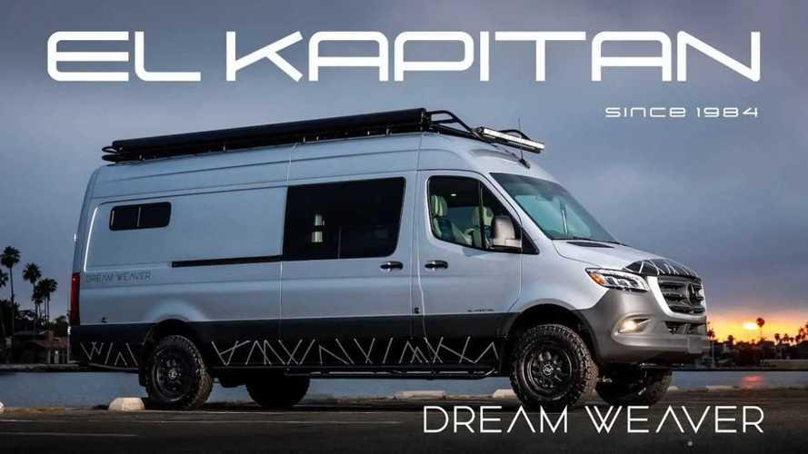 El Kapitan Van представил эргономичный дом на колесах