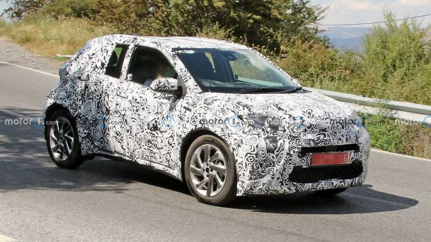 Next-Gen Toyota Aygo Spied With Production Body And Lights