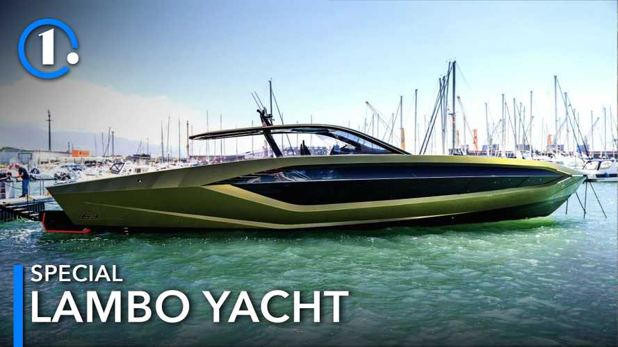 Tecnomar for Lamborghini 63 Is Supercar-Inspired Yacht With 3,945 HP