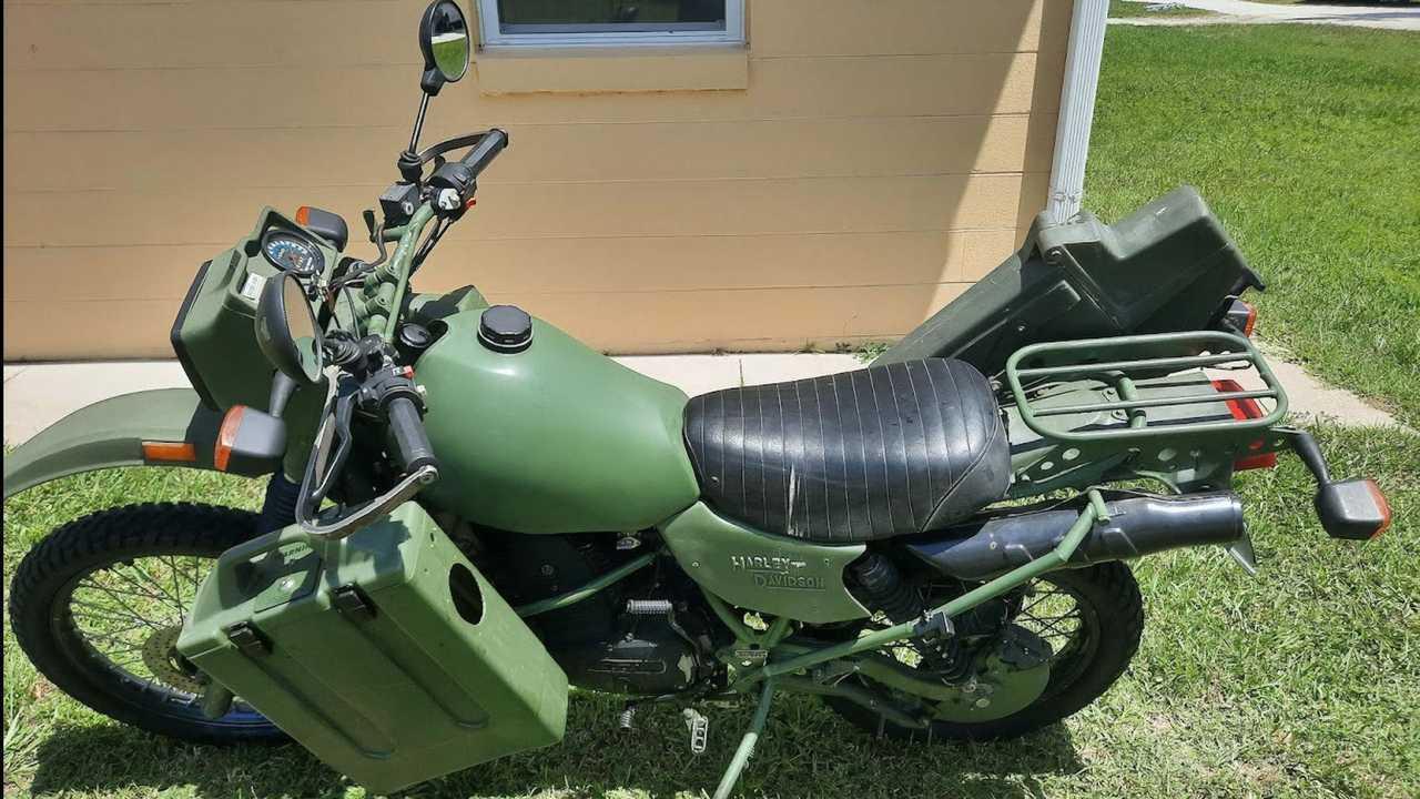 1997 Harley-Davidson MT350E - Left Side