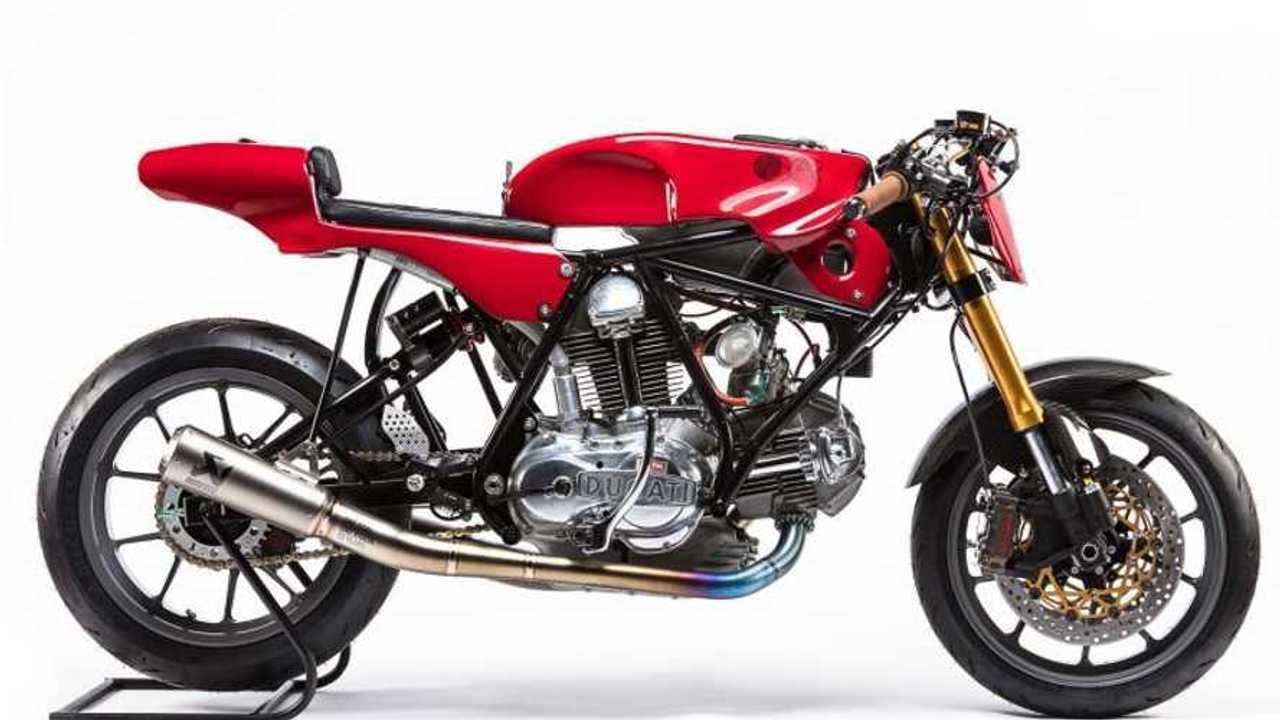 Oscar by Alpinestars Tribute: 1974 Ducati 750 Sport - Side, Right