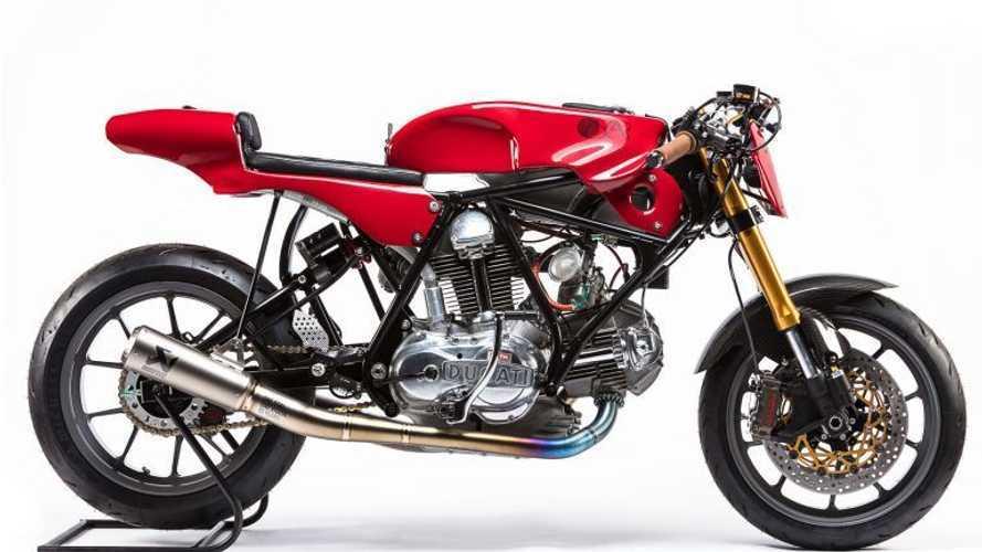 Ducati 750 Sport 1974 Custom Bukti Penghormatan pada Alpinestars