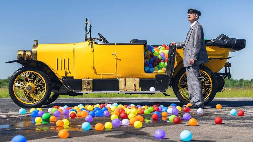 Audi Honors Past, Present, And Future With Epic Water Balloon Fight