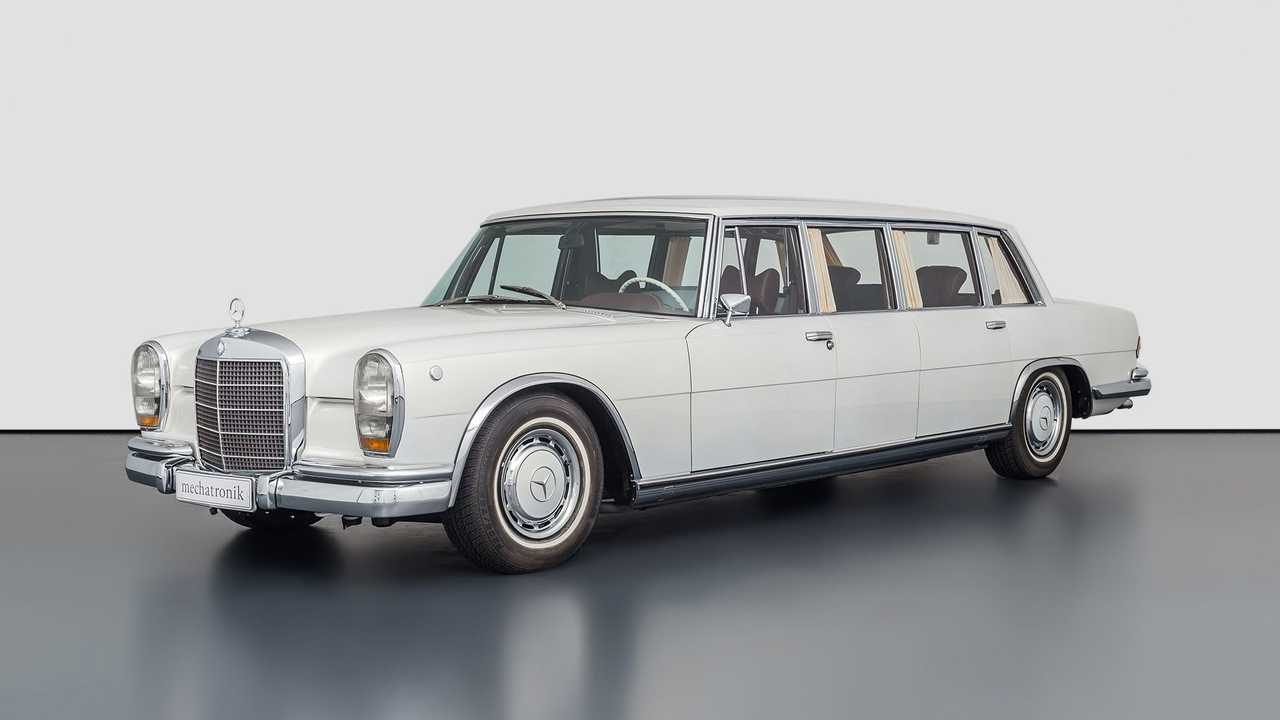 Mercedes Pullman with Maybach parts for sale